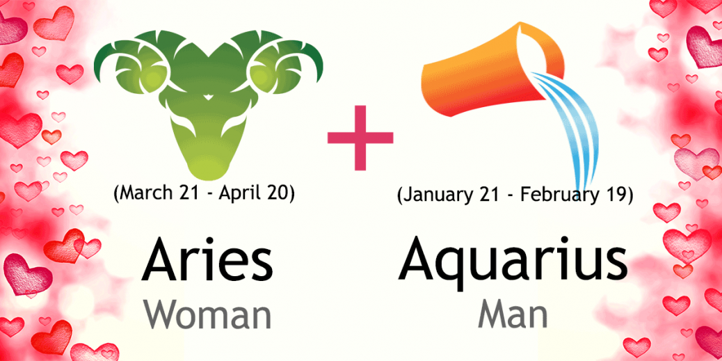 Aquarius Man Aries Woman Love Compatibility Of April, 2018